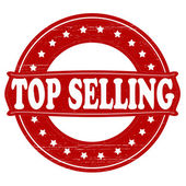 Top selling — Stock Vector