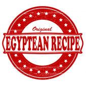 Original Egyptean recipe — Stock Vector