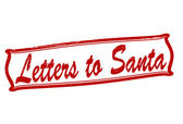 Letters to Santa — Stock Vector
