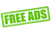 Free ads — Stock Vector