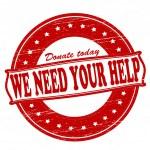 We need your help — Stock Vector #47206059