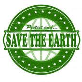 Uratować ten ziemia — Wektor stockowy