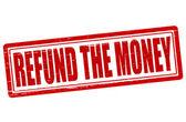 Refund the money — Stock Vector