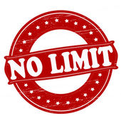 No limit — Stock Vector