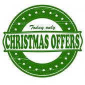 Christmas offers — Stock vektor