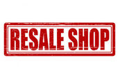 Resale shop — Stock Vector