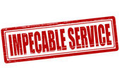 Service impeccable — Vecteur