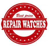 Repair watches — Stock vektor