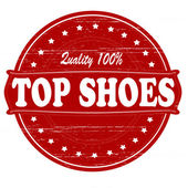 Top shoes — Stock Vector
