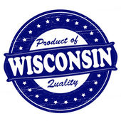Product of Wisconsin — Stock Vector