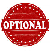 Optional — Stock Vector