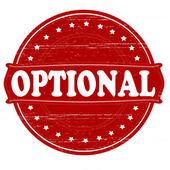 Optional — Stock Vector