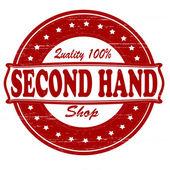 Second hand shop — Stock Vector