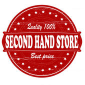 Second hand store — Stock Vector