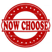 Now choose — Stock Vector