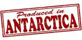 Produced in Antarctica — Vector de stock