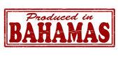 Produceras i bahamas — Stockvektor