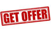 Get offer — Stock Vector