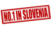 No one in Slovenia — Stock Vector
