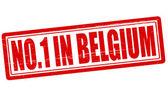 No one in Belgium — Stock Vector