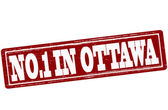 No one in Ottawa — Stock Vector