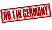 No one in Germany — Stock Vector