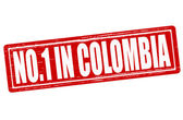 No one in Colombia — Stock Vector