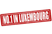 No one in Luxembourg — Stock Vector