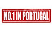 No one in Portugal — Stock Vector