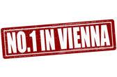 No one in Vienna — Stock Vector
