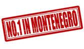 No one in Montenegro — Stock Vector