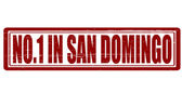No one in San Domingo — Stock Vector
