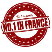 No one in France — Stock Vector