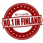No one in Finland — Stock Vector