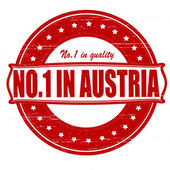 No one in Austria — Stock Vector