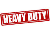 Heavy duty — Stock Vector
