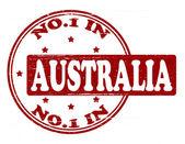 No one in Australia — Stock Vector