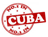 No one in Cuba — Stock Vector