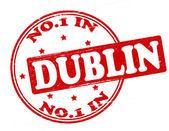 No one in Dublin — Stock Vector