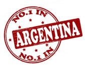No one in Argentina — Stock Vector