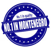 No one in Montenegro — Stock Vector