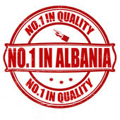No one in Albania — Stock Vector