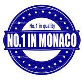 Ingen i monaco — Stockvektor