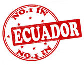 No one in Ecuador — Stock Vector