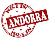No one in Andora — Stock Vector