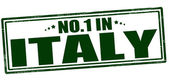 No one in Italy — Stock Vector