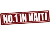 No one in Haiti — Stock Vector