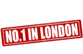 No one in London — Stock Vector