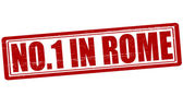 No one in Rome — Stock Vector