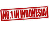 No one in Indonesia — Stock Vector